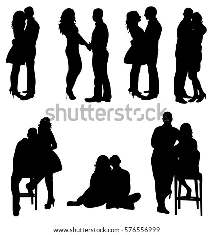 isolated collection of lovers