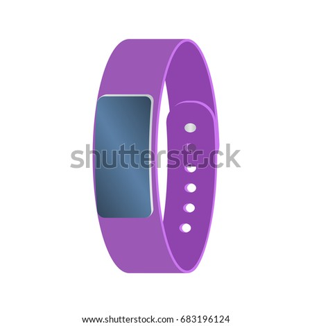isolated colored purple smart