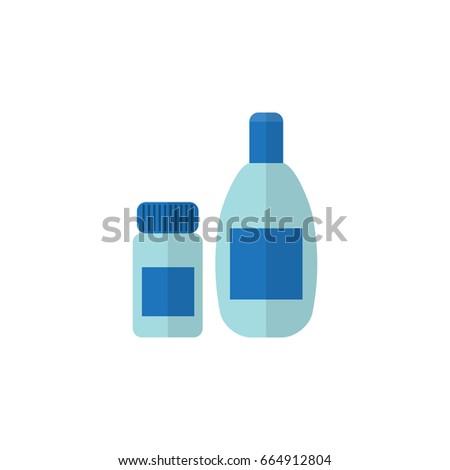isolated cosmetics flat icon