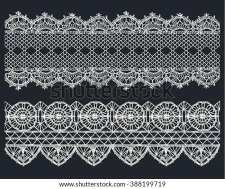 Crochet Lace Vectors Download Free Vector Art Stock Graphics Images