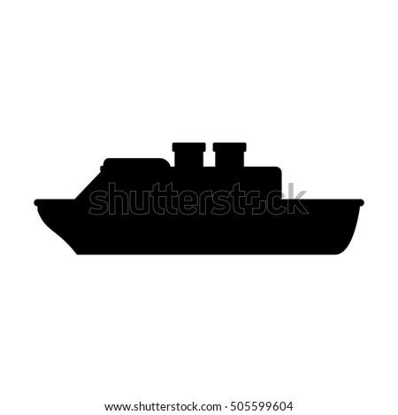 Isolated cruise ship design