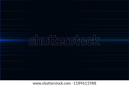 Stock Photo Isolated,  Digital Lines Horizon Background Wallpaper Design Vector Graphic, Blue on Black, Iterations, Expanding, Modern, Tech, Digitize, Permutation, Abstract Geometric, Infinity, Virtual Space, VR