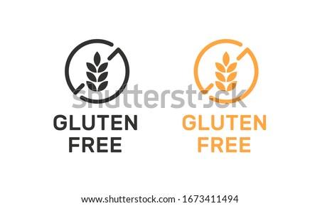 Isolated gluten free icon sign vector design. Zdjęcia stock ©