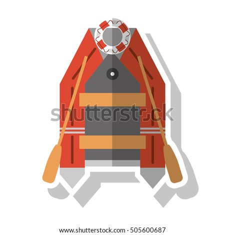Isolated lifeboat ship design