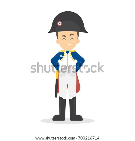 isolated napoleon bonaparte on