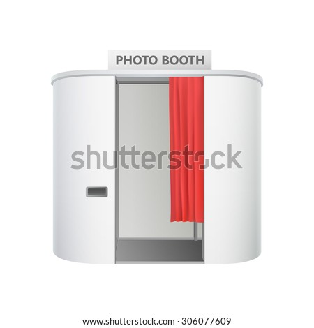 Shutterstock isolated photo booth
