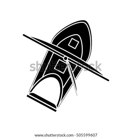 Isolated sailboat ship design