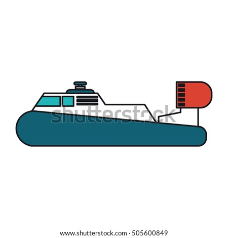 Isolated ship design