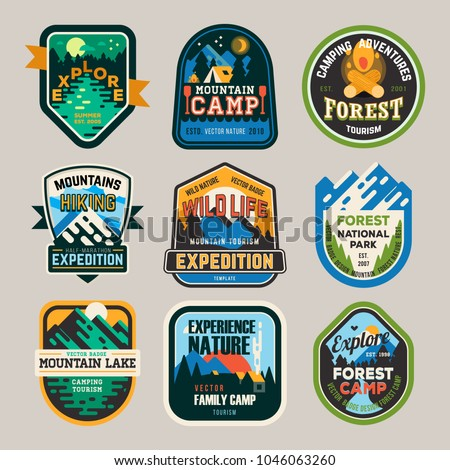 isolated signs or badges  logo