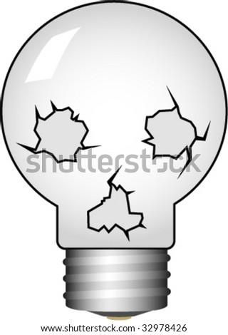 isolated skull-bulb