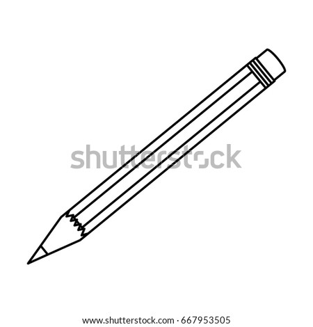 isolated study pencil