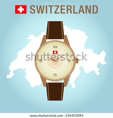 isolated vector golden wrist