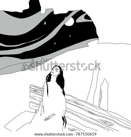 isolated vector illustration a