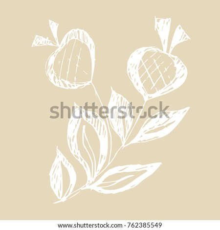 isolated vector illustration....