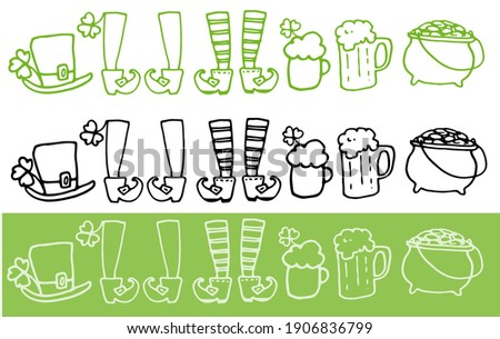 isolated vector set of multi
