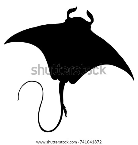 isolated vector silhouette of...