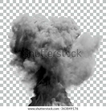 isolated vector smoke   eps10