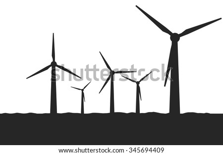 isolated windmills