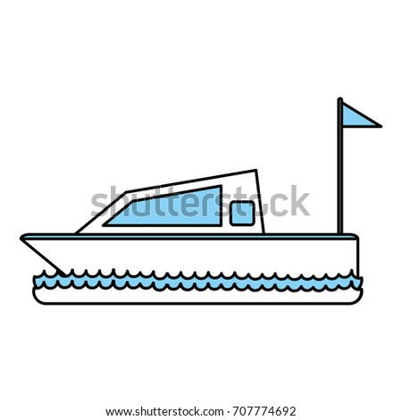 Isolated yacht design