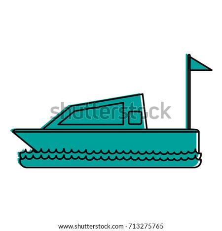 Isolated yacht design