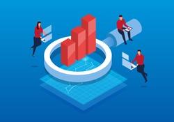 Isometric business and data analysis