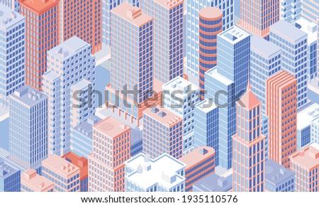 isometric city centre