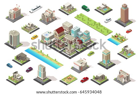 isometric city constructor