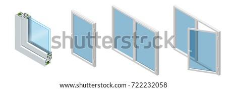 isometric cross section through