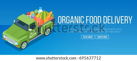 isometric delivery organic food