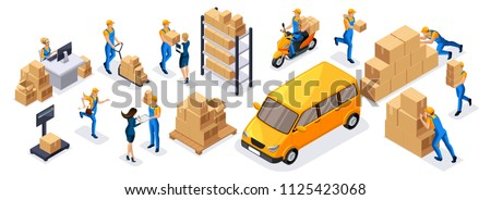 isometric delivery service