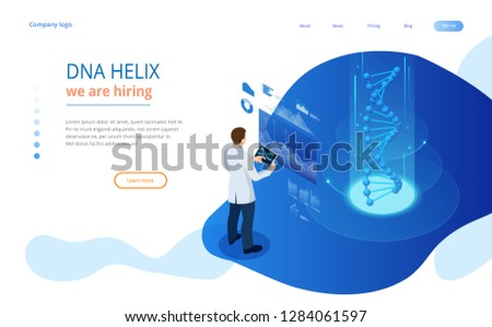 isometric dna helix  dna