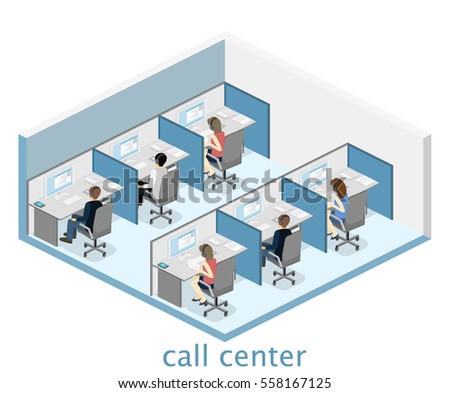 isometric flat 3d isolated