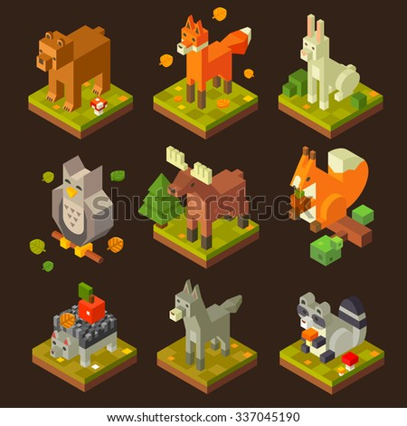 isometric  forrest bird and