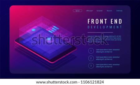 isometric front end development