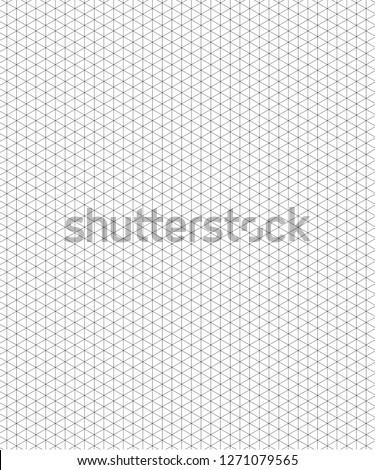 Isometric Grid Illustration