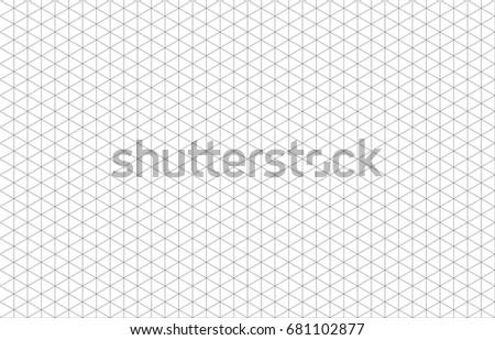 Isometric grid lines