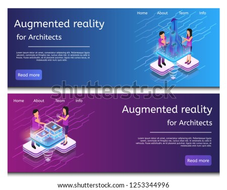 isometric illustration virtual