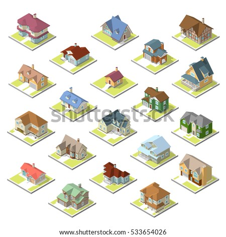isometric image of a private