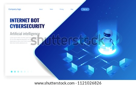 isometric internet bot and
