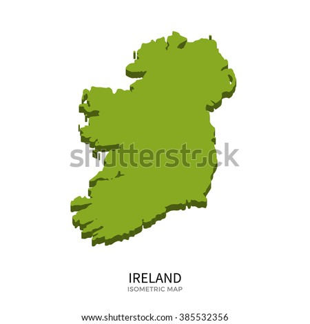 isometric map of ireland