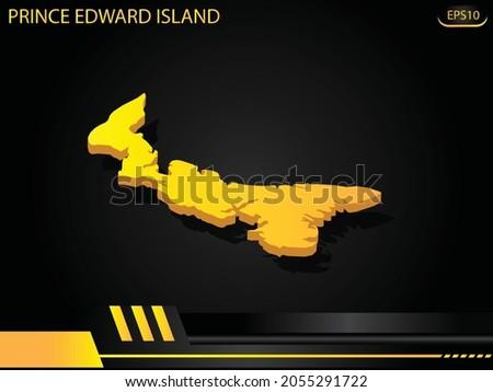 isometric map yellow of prince