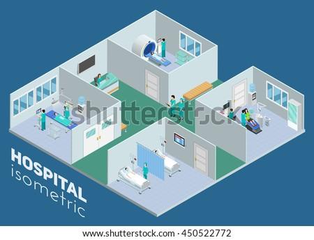 isometric medical hospital