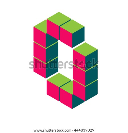 Isometric Pixel Type Download Free Vector Art Stock Graphics Images