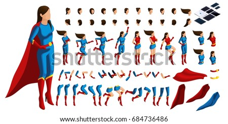 isometric set of gestures of