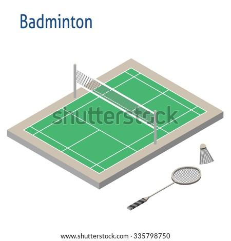 badminton court size in meter pdf