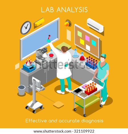 isometric vector science clinic