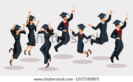 isometrics graduates girls and