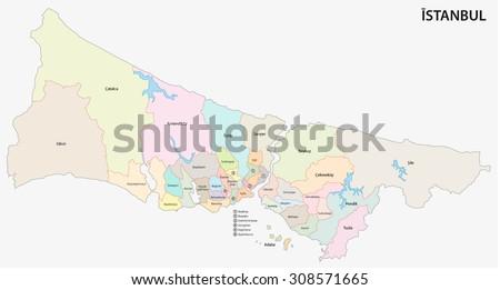 Tuzla istanbul map