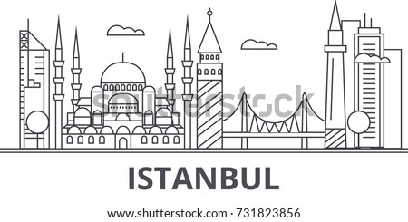 istanbul architecture line