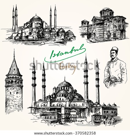 istanbul hand drawn collection